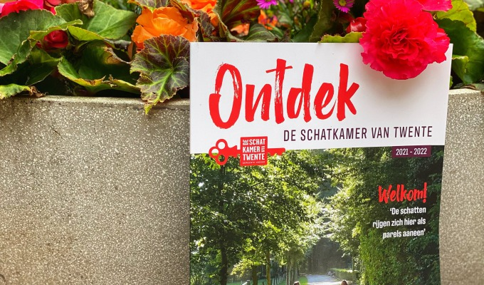 """Toeristisch magazine """"Ontdek De Schatkamer van Twente"""""""