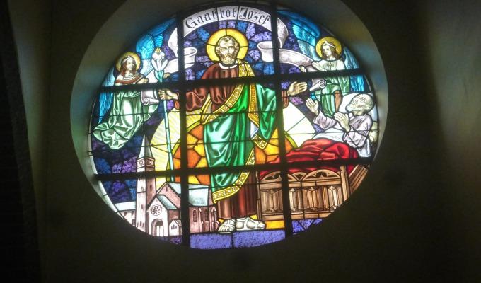 St.Jozef-tentoonstelling  in kerk De Lutte