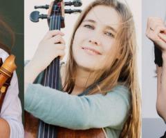 Lucie Horsch, Nuala McKenna en Alexandra Nepomnyashchaya
