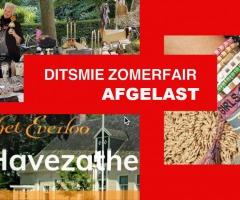 Ditsmie Zomerfair = GEANNULEERD