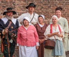 'ONTZET'tend feest - 16e eeuwse markt