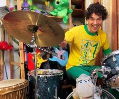 Muziek maken met Dirk Scheele (2 - 7 jaar)