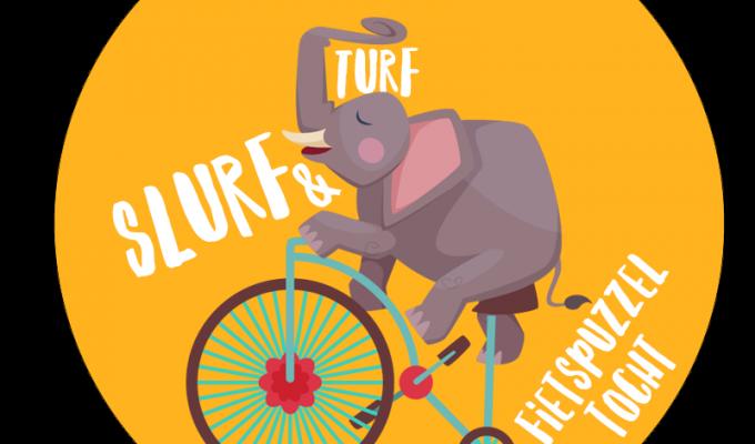 Slurf & Turf fietspuzzeltocht