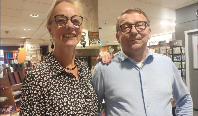 Maja en Toon, al bijna 40 jaar het gezicht van de VAKO kantoorboekhandel