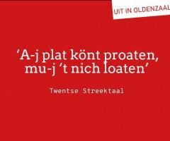 Randprogramma streektaalconferentie in Oldenzaal