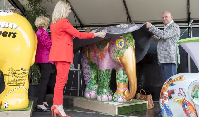 Officiële opening Elephant Parade Twente