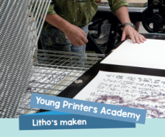 Young Printers Academy - Litho's maken