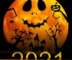 Halloweentocht in De Lutte