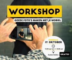 Workshops goede foto's maken
