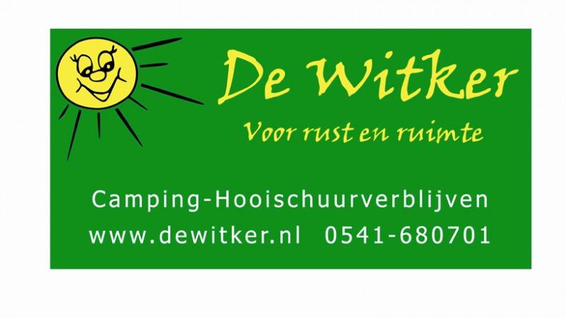 Camping en Hooischuurverblijf De Witker