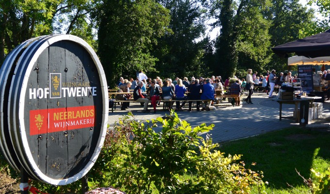 Open dag en Wijnfeest Wijngaard Hof van Twente
