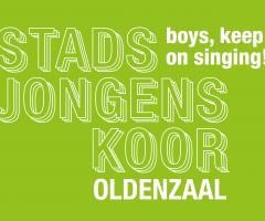 Zing gratis mee met het Stadsjongenskoor Oldenzaal!