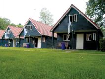 Blockhütten Campus Universität Twente