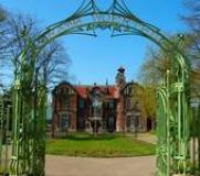 Park bij Villa Rams Woerthe