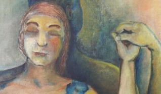 Malereien Etsen & Bleiglasfenster Anneke van Breugel-Vincenten