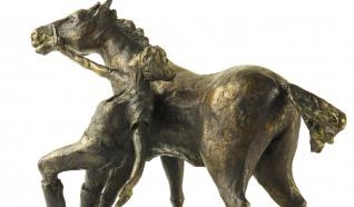Bronzebilder & Modelzeichnungen Ton van der Zanden.