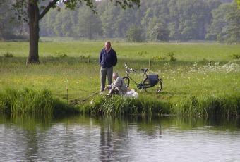 Visstekken in overvloed bij De Lemeler Esch