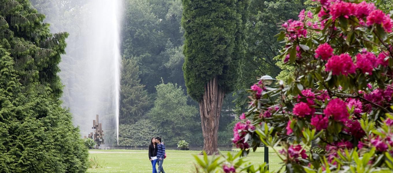 Het Volkspark in Enschede