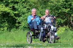 Duo-fiets te huur in Borne