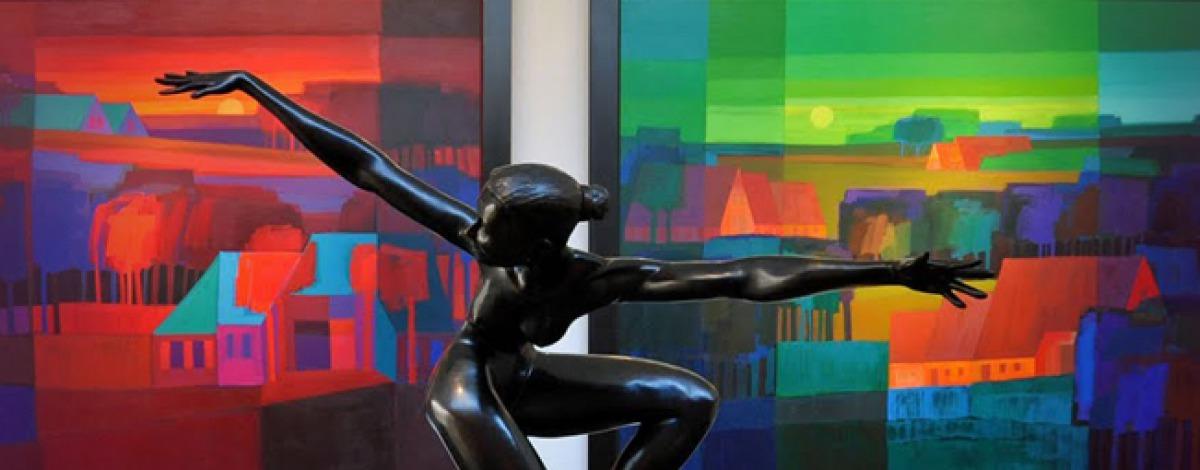 画廊,艺术家和博物馆