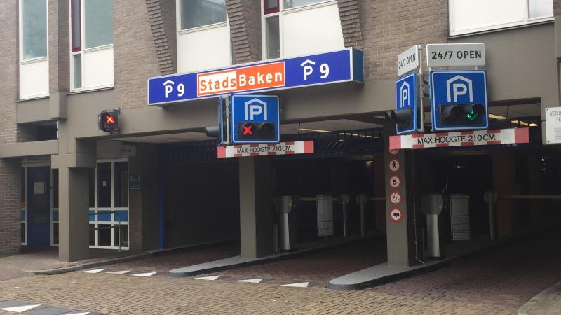 Parkeergarage StadsBaken P9