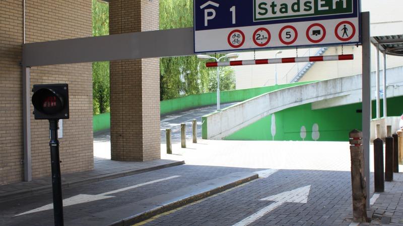 Parkhaus P1 Stadserf
