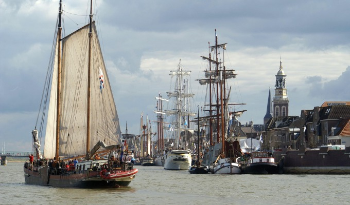 Hanseatic cities and Tulips on the seabed