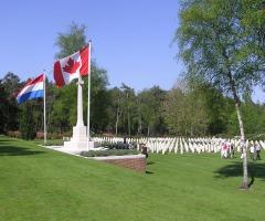 Rondleiding Canadese Begraafplaats