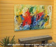 Workshop experimenteel schilderen met acryl