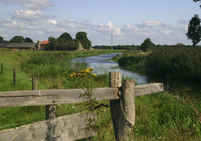 Rivierenlandschap van de IJssel