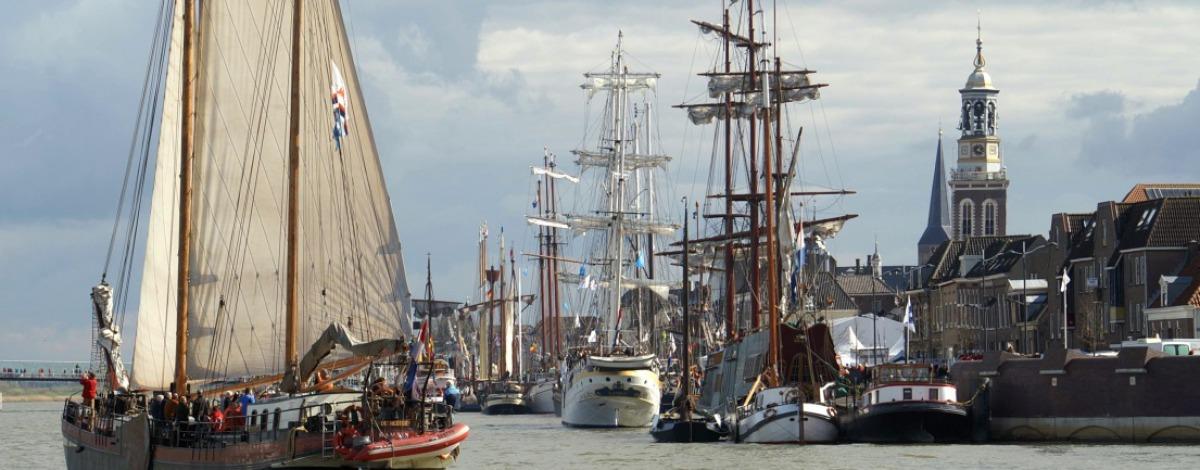 Varen in de IJsseldelta
