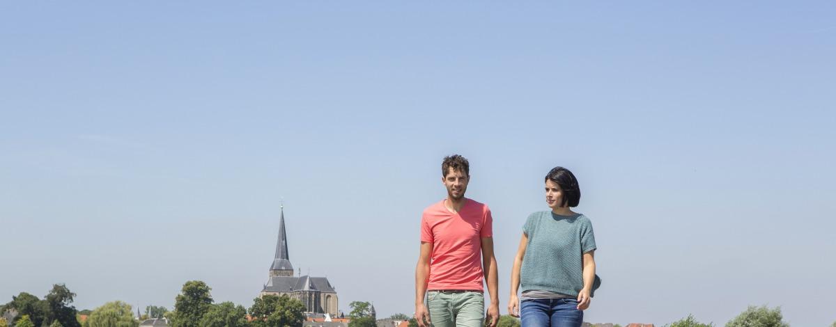 Wandelen in de IJsseldelta
