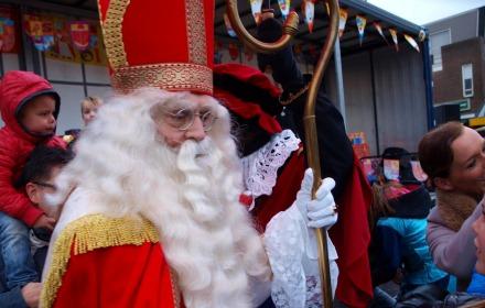 Intocht van Sinterklaas in Holten