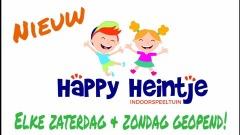 Kinder indoorspeeltuin Happy Heintje