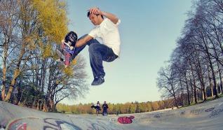 Skateboardbaan