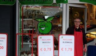 Piet Nijboer, uw groenteman