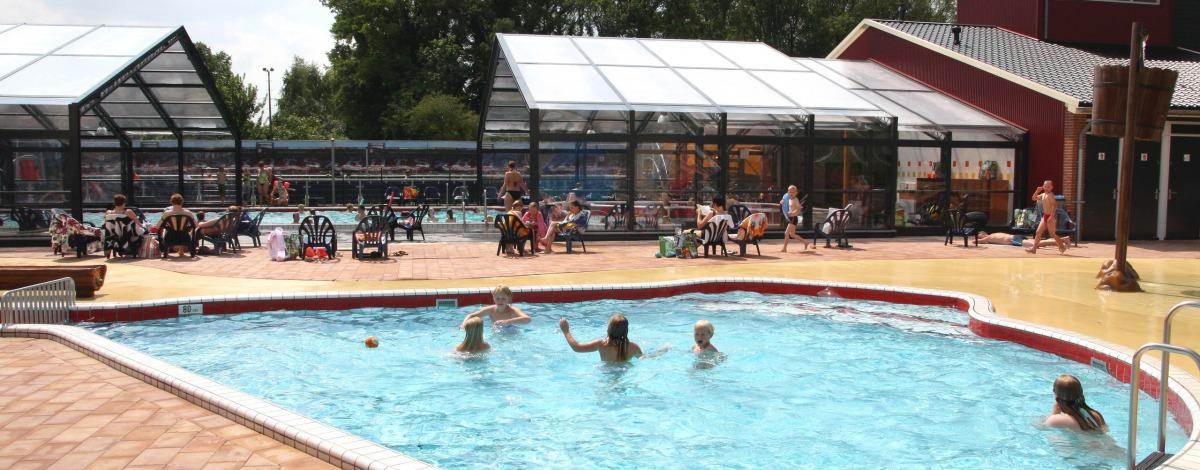 Camping Twente met overdekt zwembad