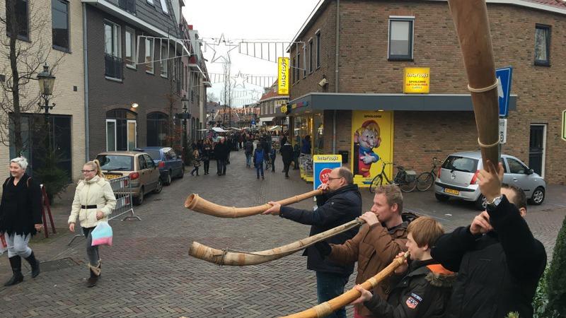 Kerstfair en koopzondag in Losser