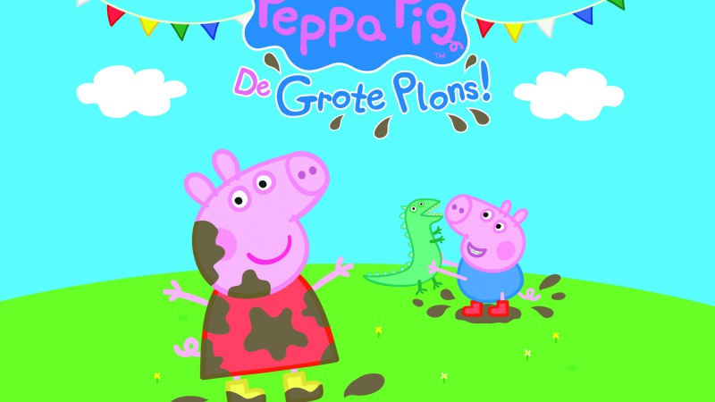 Peppa Pig in Theaterhotel Almelo