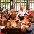 Ontbijtbuffet bij Preston Palace