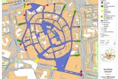 Plattegrond centrum Enschede