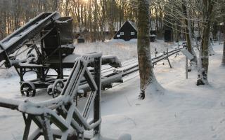 Winterwandeling Veenmuseum.