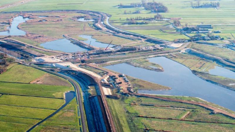 Dag van de Bouw bij Ruimte voor de Rivier IJsseldelta