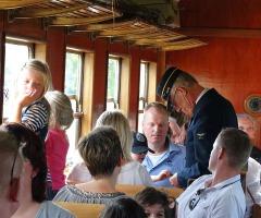 Met de trein naar Military Boekelo