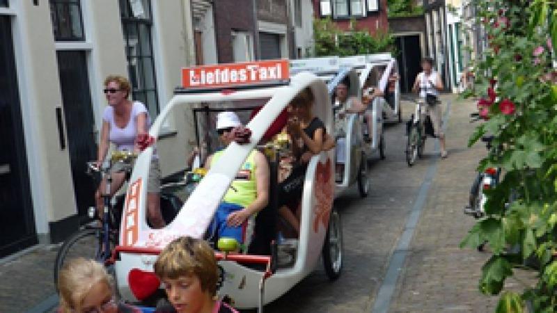 Fietsjoe fietstaxi