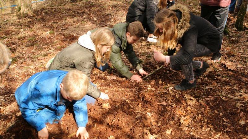 Eieren zoeken op Eerste Paasdag in de Hellendoornse berg AFGELAST!