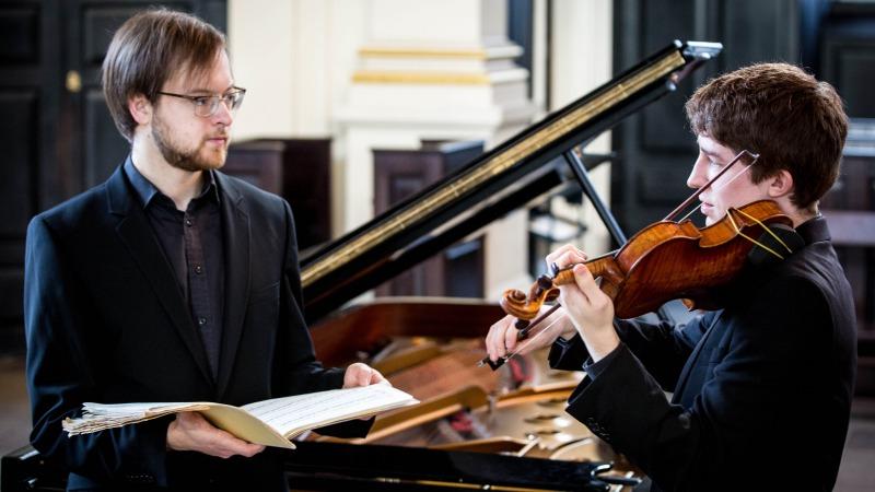 Michael Foyle en Maksim Stsura