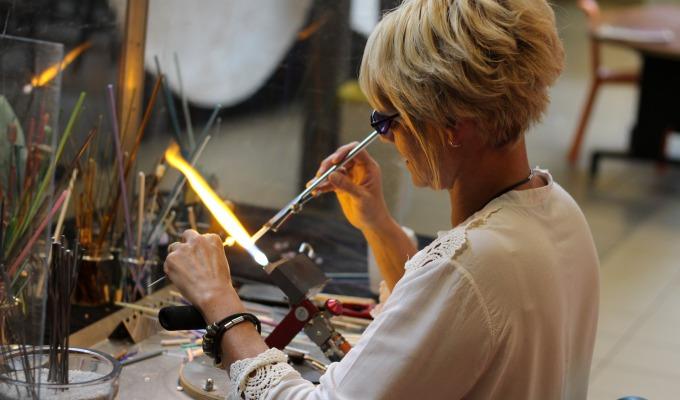 Workshops Glaskralen branden