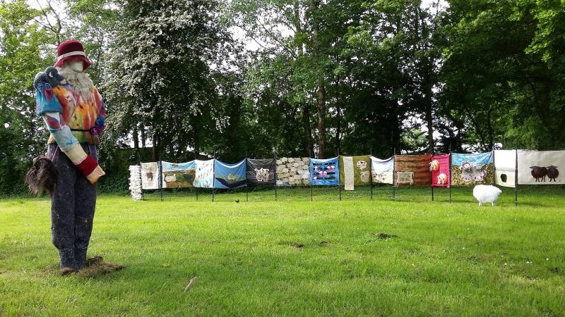 Textielfestival in de Weerribben