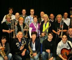 Bigband Driland in de muziekkoepel Overdinkel AFGELAST